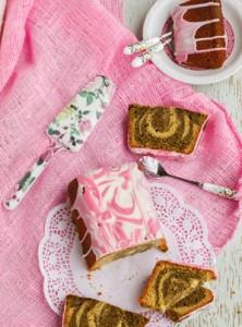 Einfacher Matcha Kuchen aus der Kastenform
